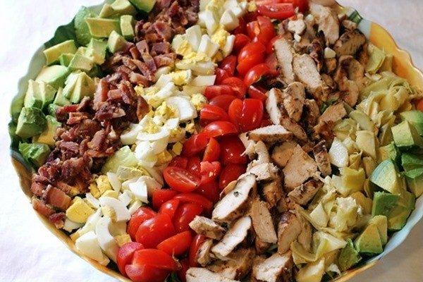 chicken cobb salad dairy-free