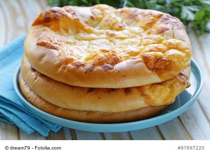 Freshly baked cloud bread