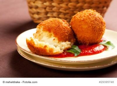 Arancini - Italian rice balls