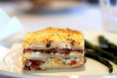 Potato Lasagna On-trend and Gluten-free