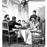19th century family dining