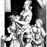 18th century bread for the children