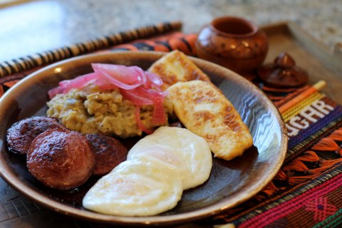 Dominican mangu'
