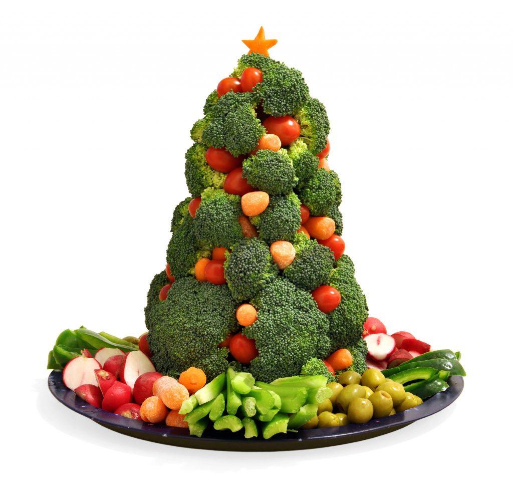 Holiday Vegetable display