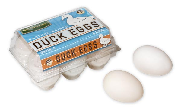 Pasture Raised Duck Eggs ½ Dozen