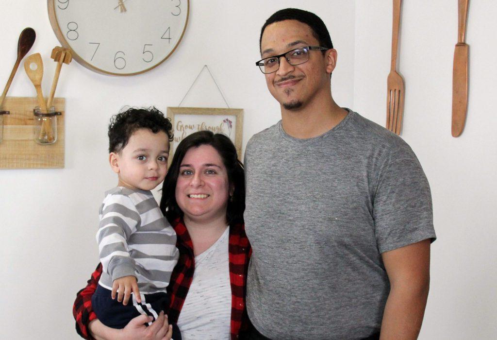 Chef Ryan Rodriguez, wife Carmina, son Lucas