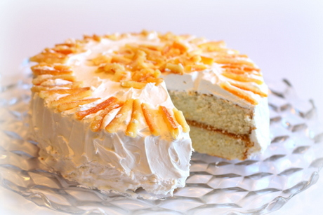 special orange blossom cake