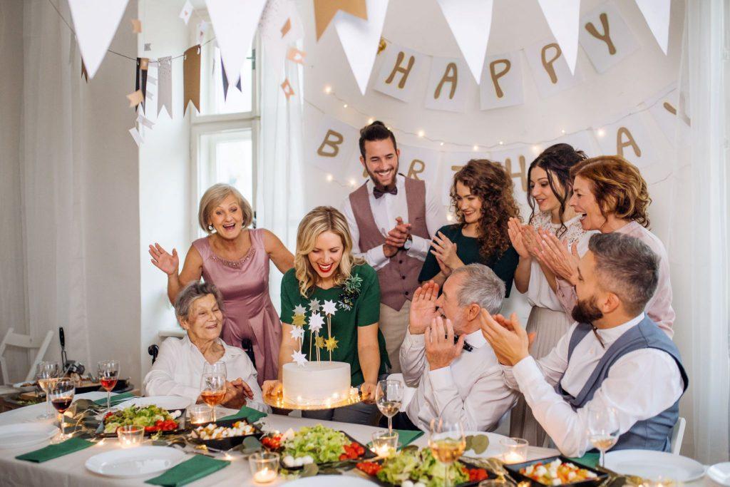 Celebrating Caesar salad birthday