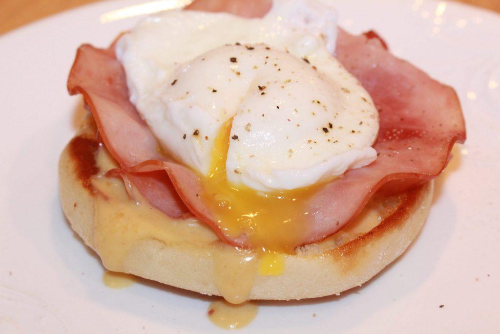 Eggs Welsh Rarebit Benedict