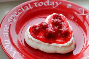 Valentine meringue